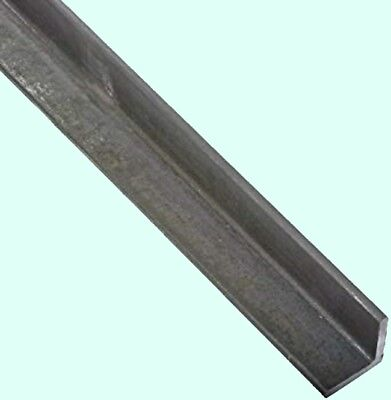 "Steel Angle Iron  1/8"" x 3/4"" x 6 Ft.  Hot Rolled Carbon Steel  90° Stock Mill"
