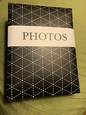 Photo Album. 50 Sleeves. Holds 100 Photos. Brand New.
