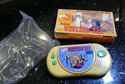 CASIO WESTERN BAR  Vintage Electronic Handheld LCD Video Game  ✨NO RESERVE✨ #3