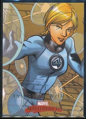 2008 Marvel Masterpieces 2 Trading Card #37 Invisible Woman