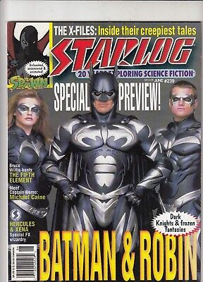 BATMAN FOREVER: The Official Comic and 2 STARLOG covers vintage collectables