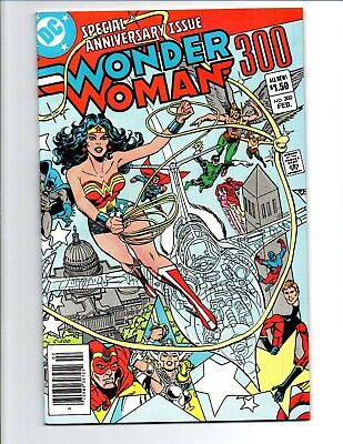 Wonder Woman vol.1 #300 newsstand - 1st Lyta Trevor - 1983 - (-Near Mint)