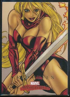 2008 Marvel Masterpieces 2 Trading Card #66 Red Queen