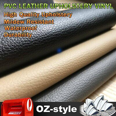 3 Colors Auto Marine Faux Leather Upholstery Vinyl Fabric Synthetic Leatherette
