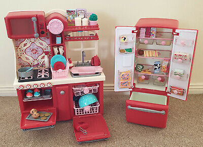 Our Generation Gourmet Kitchen set RED