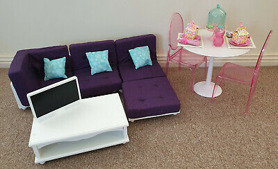 Journey Girls Lounge / Coffee Table Our Generation dining set