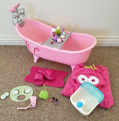 Our Generation Bathtub and Accessories