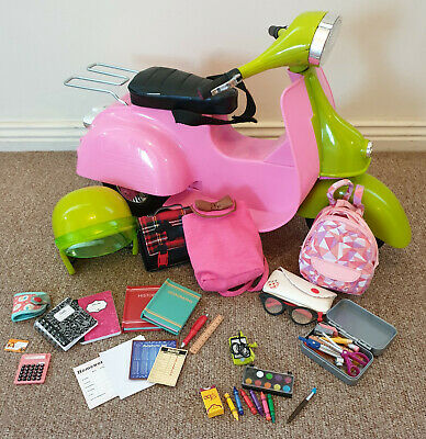 Our Generation Vespa and School Accessories