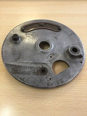 Vented Vintage Motorcycle front brake plate Poss BSA or Triumph