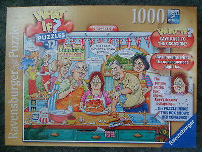 What If? No.12 'The Cake Off' 1000 Piece Jigsaw Puzzle