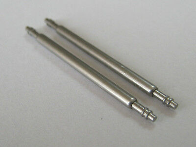 Watch Spring Bars,Pins,Lugs. 1.2mm Diameter. One pair. Fast delivery from UK.