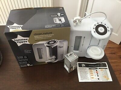 Tommee Tippee Closer To Nature Perfect Prep Machine In White - Used