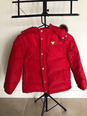 Giordano Junior Boys / Girls Warm Feather Down Puffer Jacket Size 8-10 Years