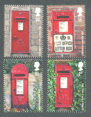 Great Britain Postboxes mnh set of 4