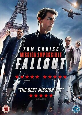 Mission: Impossible - Fallout [2018] (DVD) (Brand New + Sealed)