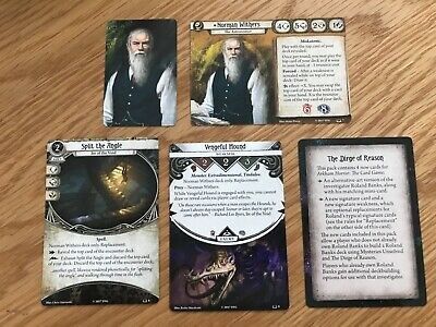 FFG Arkham Horror LCG Norman Winters Ire of the Void player cards