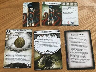 FFG Arkham Horror LCG Jenny Barnes Hour of the Huntress player cards