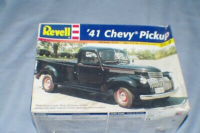 1/25Th Scale 1941 Chevy Pickup Vintage 1999 Model Kit Sealed