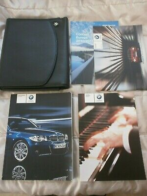 BMW 1 SERIES COUPE & CONVERTIBLE HANDBOOK MANUAL PACK 2007 - pre f/lift 2011
