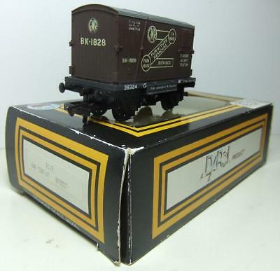 DAPOL B119 GWR Conflat Furniture Container Wagon (Boxed)