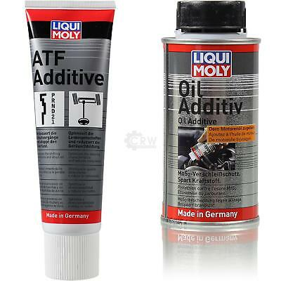 Originale Liqui Moly Set Atf Additive e Oil Additivo