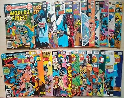 DC Comic: Worlds Finest Comics - Superman and Batman x24 issues