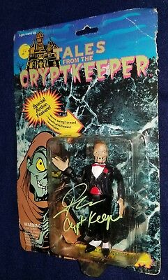 Tales from the Crypt Keeper Crypt Keeper Figure Autographed By John Kassir
