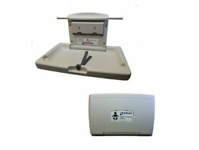 New Metlam Ml8100h Baby Change Station Horizontal Surface Mounted - Off White