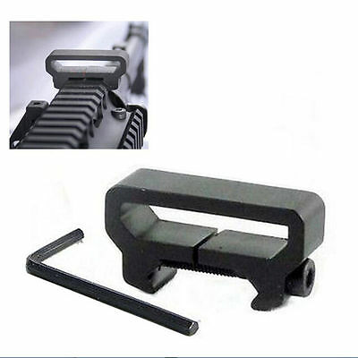 Tactical  Sling Scope Mount Picatinny Weaver Rail Adapter AttachmentODCA