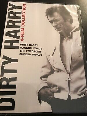 DIRTY HARRY 4 FILM COLLECTION (DVD) NEW  Clint Eastwood