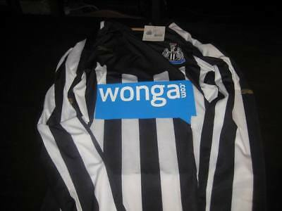 Newcastle United Authentic Home Pro Shirt 2014/15 Long Sleeve Tags /Packet