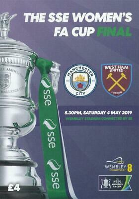 * 2019 WOMENS FA CUP FINAL - MAN CITY v WEST HAM (4th May 2019) *
