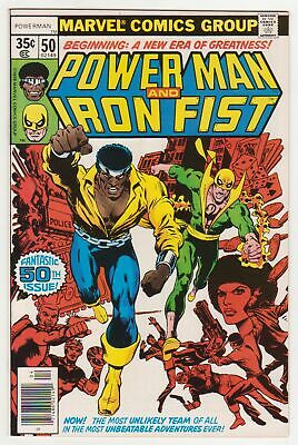 Power Man and Iron Fist #50 ~ Luke Cage / Danny Rand team-up begins  NM