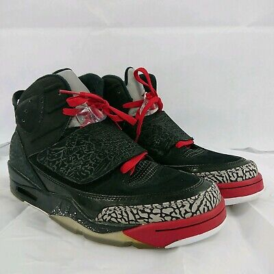 low priced cb5a0 04a36 2012 Nike Air Jordan Son of Mars Size 9.5 Black Varsity Red Cement