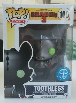 Funko Pop Toothless - How to train your dragons #100 EXCLUSIVE - METALLIC