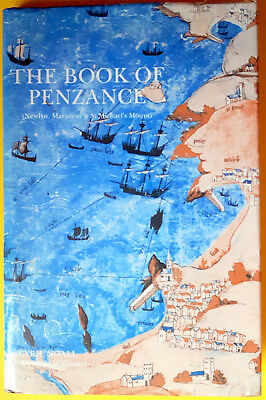 The Book of Penzance by Cyril Noall - Scarce First Edition from 1983 - Cornwall