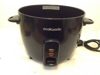 Genuine Replacement Base Unit For Cookworks Rice Cooker Model Rc-8R*