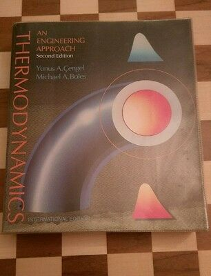 Thermodynamics An Engineering Approach 2nd Edition Yunus Cengel Michael Boles