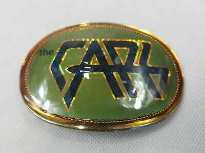 VINTAGE 1978 THE CARS  BELT BUCKLE Perfect condition Rock 60s 70s 80s 90s
