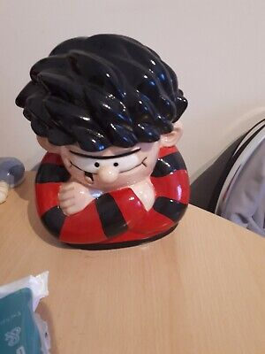 beano dennis the mennis dc thompson cookie jar
