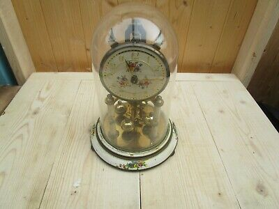 Vintage Kundo?  Anniversary Clock - GLASS DOME SPARES OR REPAIR