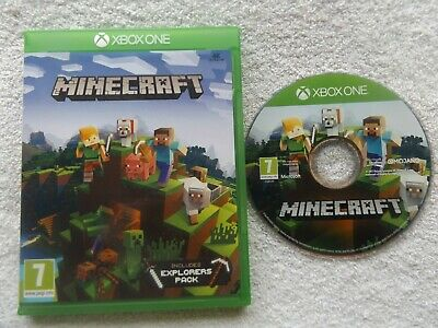 MINECRAFT: 4K ULTRA HD Edition (Xbox One, 2017) Includes Explorers
