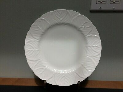 """Countryware 10 7/8"""" Dinner Plate White Wedgwood Coalport - 2 Avail."""