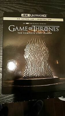 Game of Thrones: Season 1 (4K Ultra HD)(UHD)(Dolby Vision)(Atmos)(Used)
