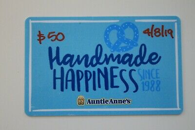 Aunties Anne's Gift Card $50