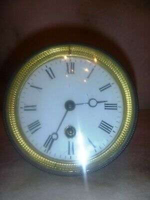 Antique French Mantel Clock Movement 110mm Wide