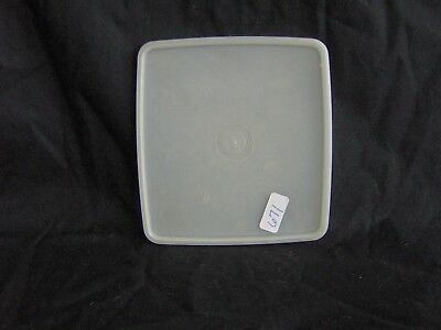 Tupperware Rectangle Square A Way Container Sandwich Keeper Lid Seal # 671 Sheer