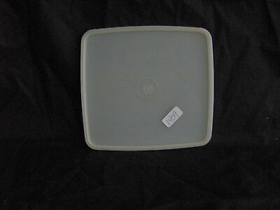 Tupperware Large Square Away Lunch Sandwich Keeper Lid Seal # 1459 Sheer Clear