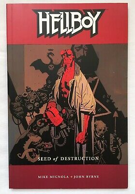 Hellboy Seed of Destruction TPB 2003 Dark Horse Comics by Mike Mignola