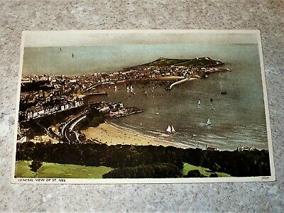 General View Of St.ives-Post Card Anni 20/30- A Colori